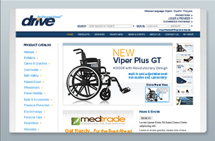 Web Design - Drive Medical