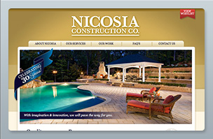 Web Design - Nicosia Construction