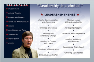 Print Design - Steadfast Leadership - Becky Halstead