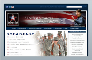 Web Design - Steadfast Leadership