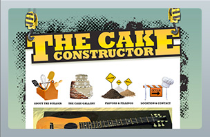 Web Design - The Cake Constructor