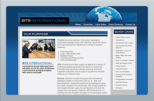 Web Design - BTS International