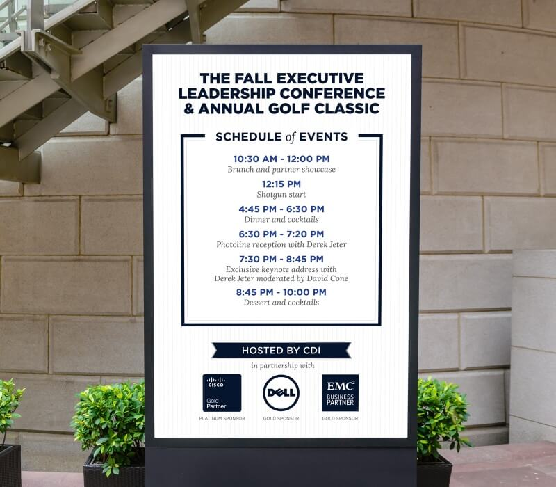 cdi event schedule design