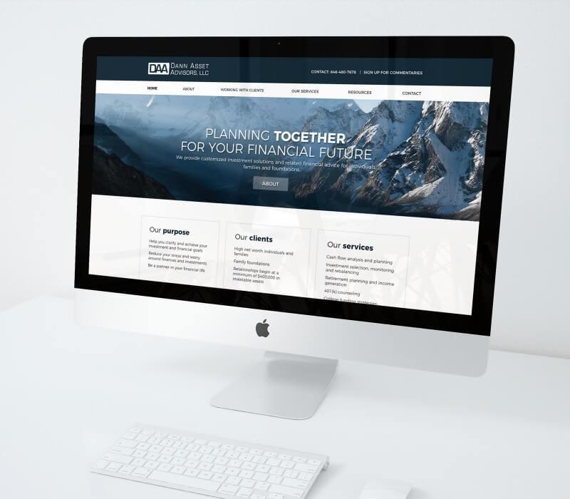 Responsive web design dann asset