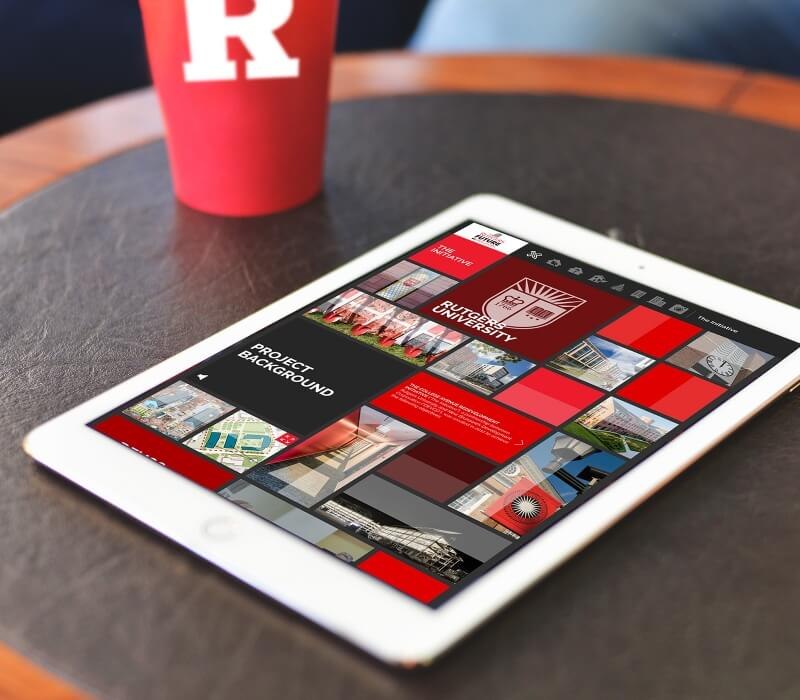 rutgers responsive tablet friendly website
