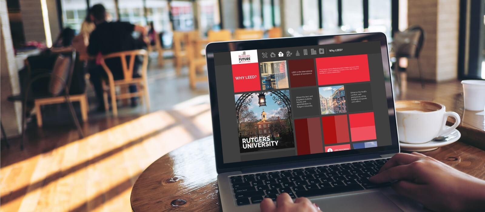 rutgers web design