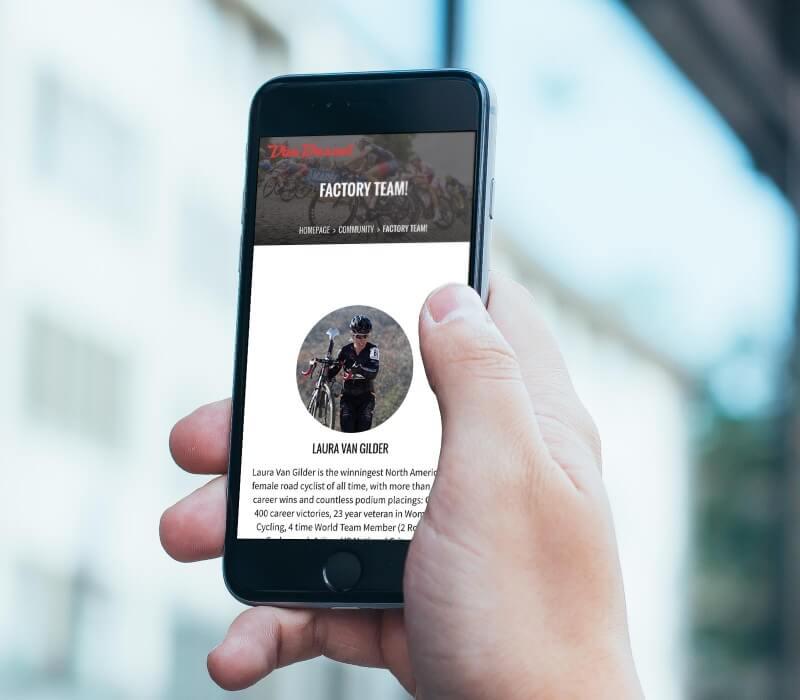 vd mobile web design