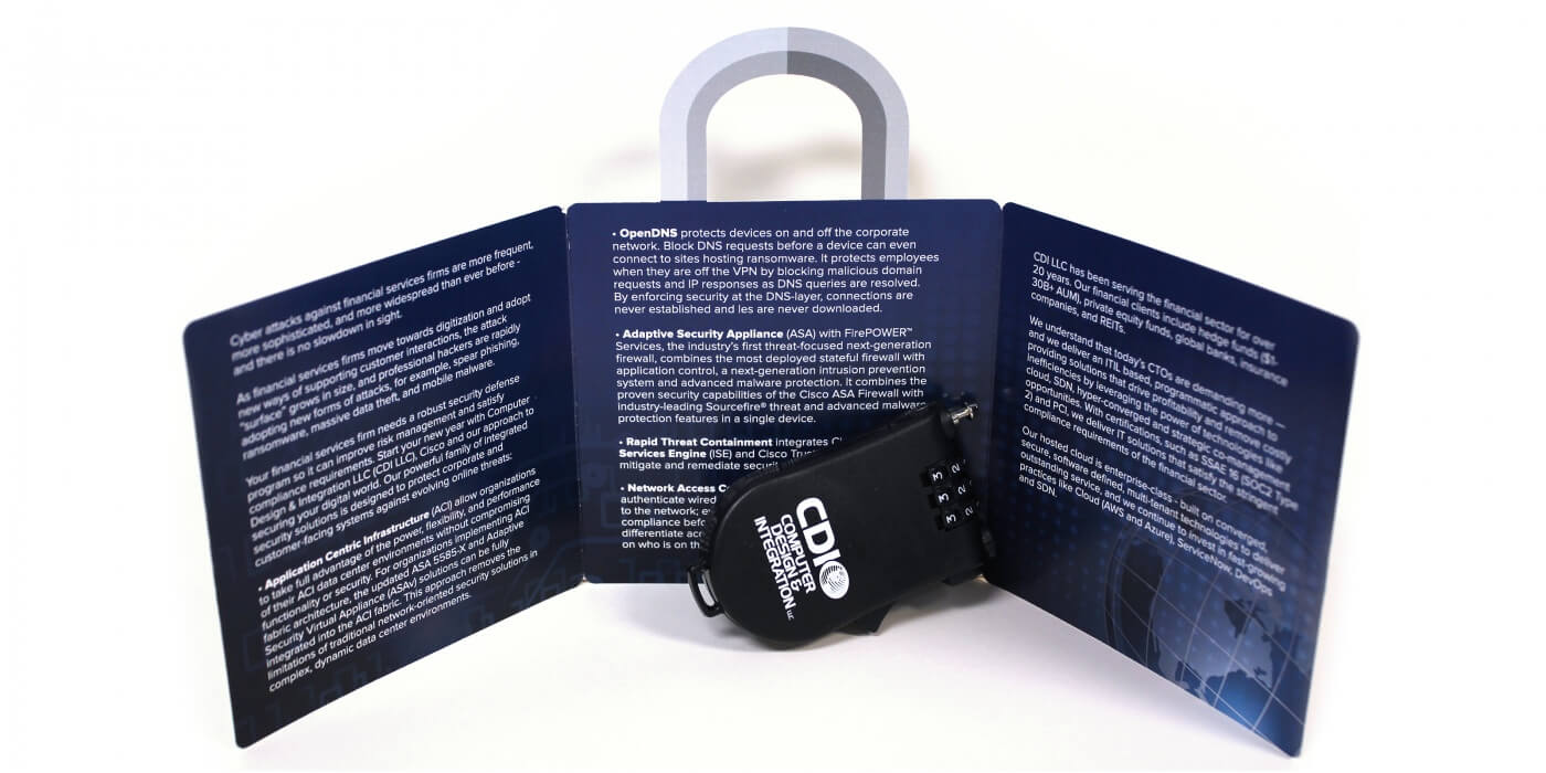 direct mail campaign mailer security lock
