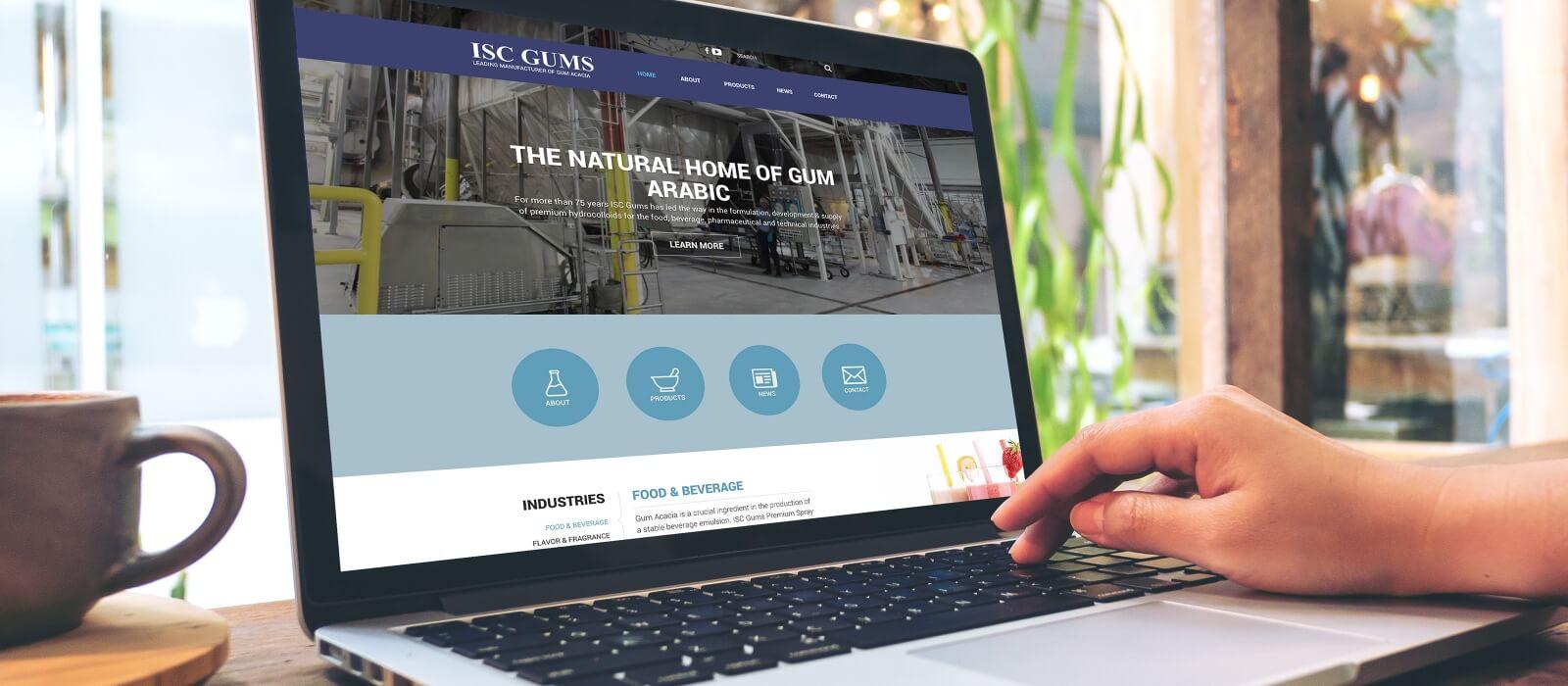 gum acacia website responsive mobile friendly web